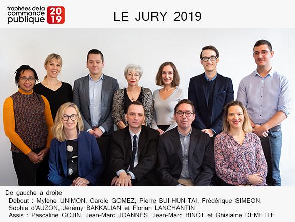 Le Jury des Trophées de la Commande Publique 2019