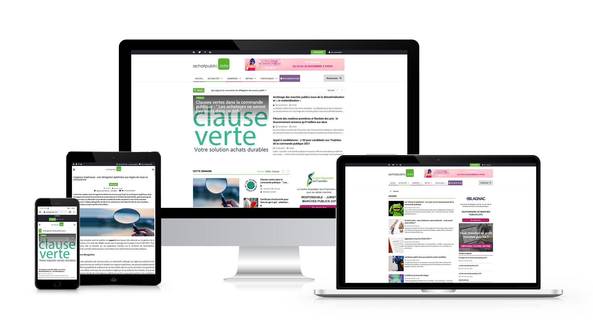 achatpublic.info - responsive design