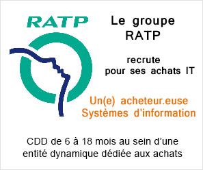 RATP recrute Acheteur.euse Systèmes d'information
