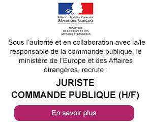 Jursite commande publique - Ministère de l'Europe et des Affaires étrangères