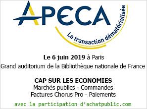 achatpublic.com participe à la conférence organisée par l'APECA