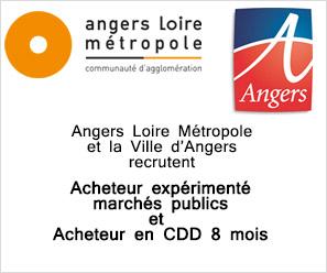 CA Angers Loire Métropole et Ville d'Angers