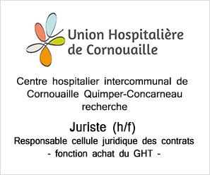 PA Centre hospitalier intercommunal de Cornouaille recherche juriste