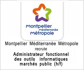 Montpellier Méditerranée Métropole administrateur-fonctionnel