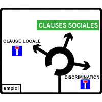 Clause sociale = clause locale ?