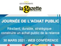 Journée de l'achat public - 30 mars 2021 - Web conférence