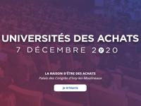 L'édition 2020 des Universités des Achats
